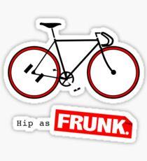 fixie. Sticker