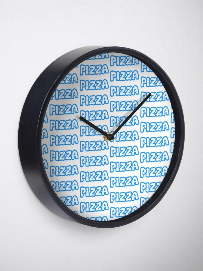 Alternative Ansicht von Pizza - Leonardo Uhr