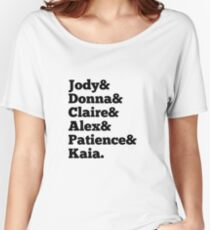 Wayward Sisters Typography  Women's Relaxed Fit T-Shirt