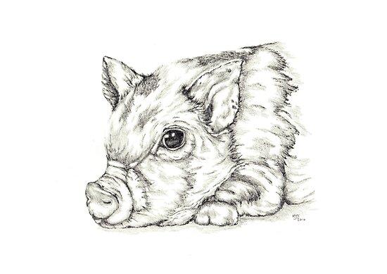 Piglet by KarenJI1962