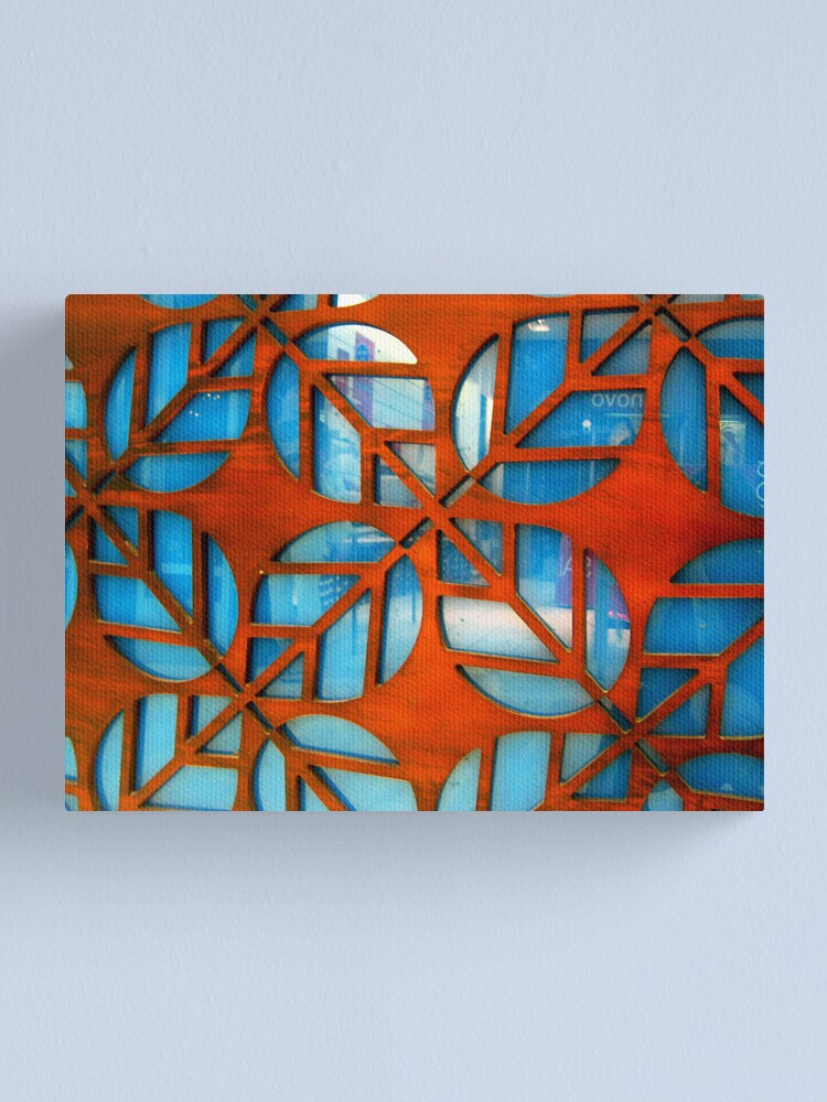 Alternate view of Interior Leaves Canvas Print
