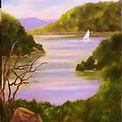 Adirondack Lake  by amdunnart