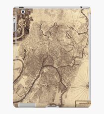 Map Of Moscow 1739 iPad Case/Skin
