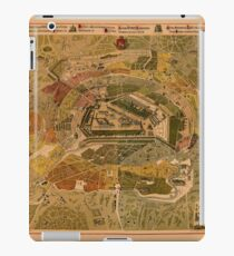 Map Of Moscow 1882 iPad Case/Skin