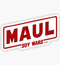 Maul a SOY Wars Story 2 Sticker