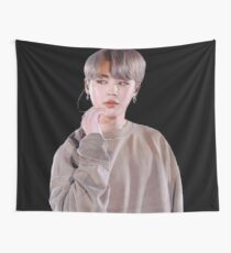 ✧ Park Jimin Is Etheral Wall Tapestry