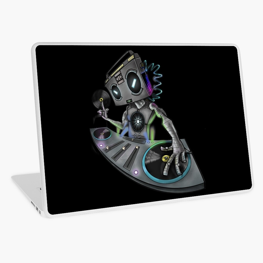 DJ Stereohead Laptop Skin