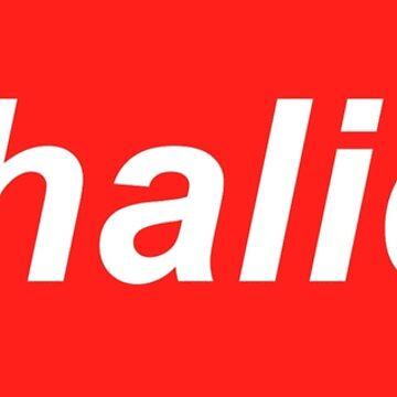 khalid supreme logo by panicattheross