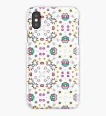 colorful lovely things decorative seamless repeat pattern iPhone Case