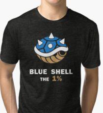 Blue Shell the 1% Tri-blend T-Shirt