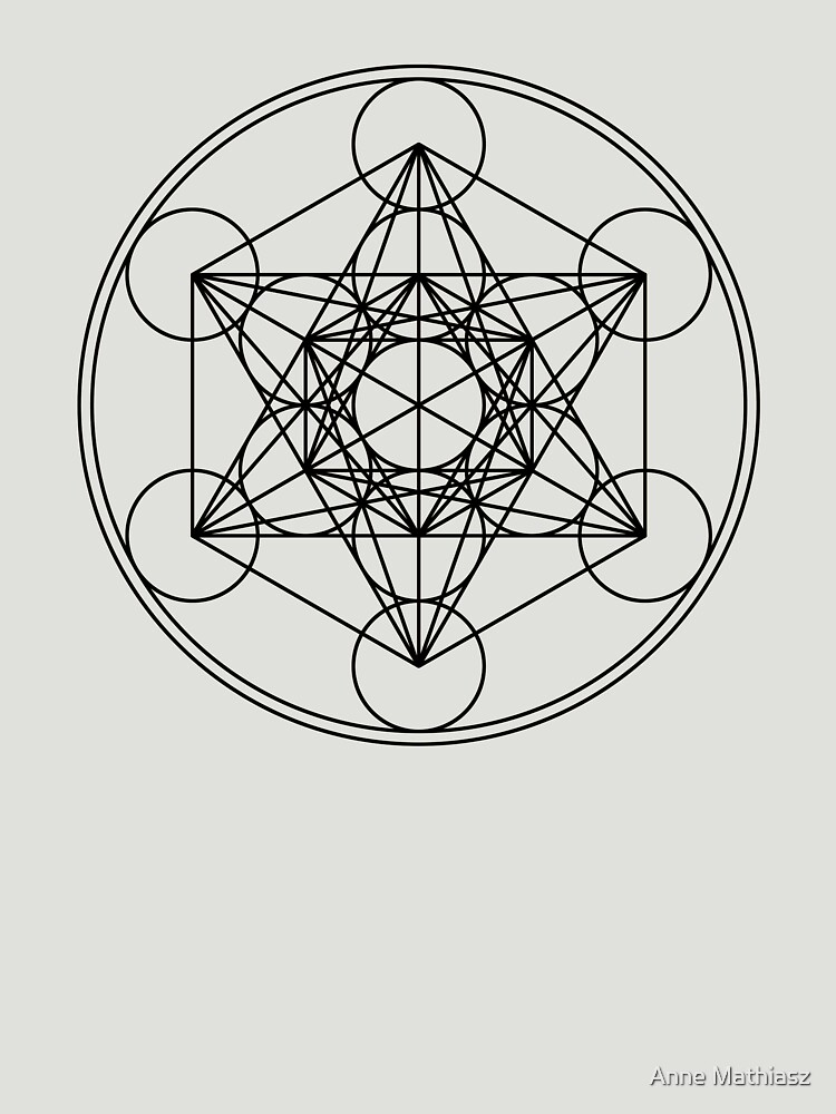 Metatrons Cube, Flower of life, Sacred Geometry von nitty-gritty