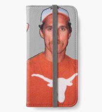 Matt Hook Em Horns iPhone Wallet/Case/Skin