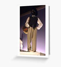 Annie Hall Costume Greeting Card