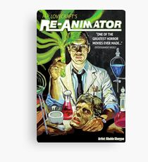 Re-Animator Canvas Print