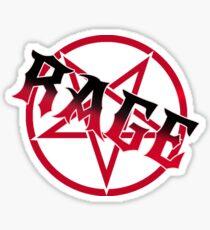 RAGE! Aggretsuko Inspired Shirt  Sticker