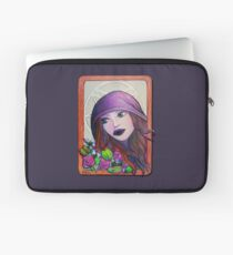 Queen Of Pentacles Laptop Sleeve
