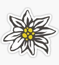 Swiss Edelweiss Sticker