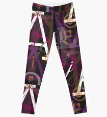 Alphabet Typography Leggings