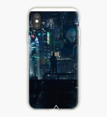 Ghost in the Shell Cityscape  iPhone Case