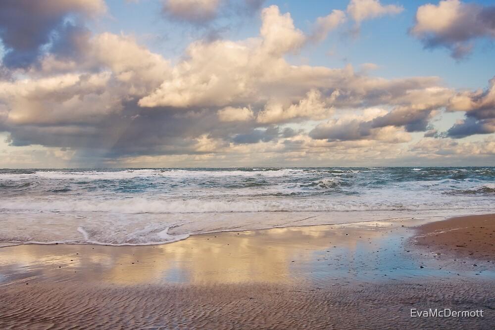 Inverness Beach Morning NS by EvaMcDermott