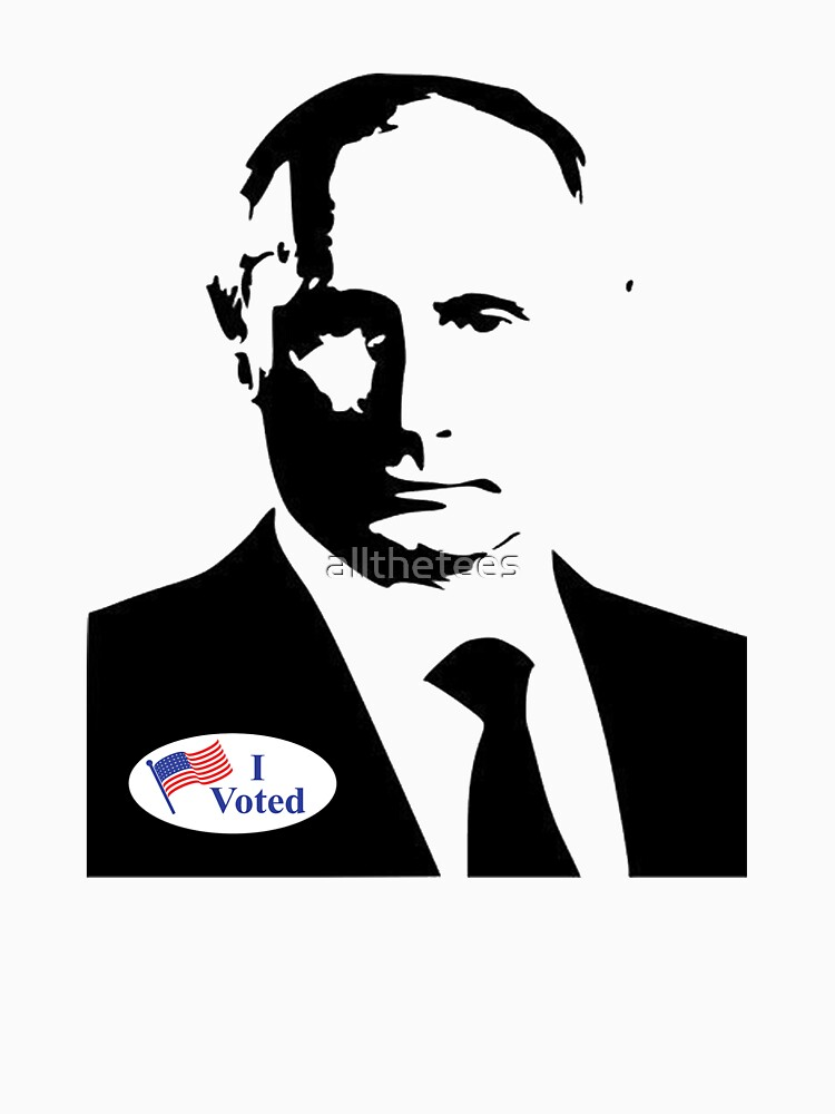 Putin I voted by allthetees