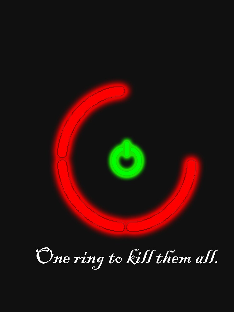 One Ring To Kill Them All by BaronVonRosco