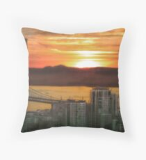 Looking to Oakland Throw Pillow