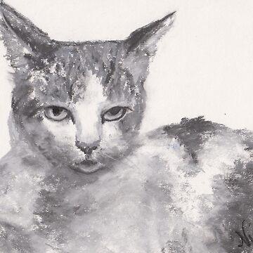 Displeased (pastel) by nikihilsabeck