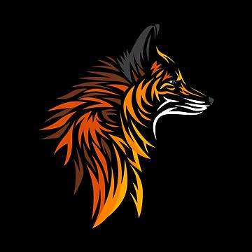 Tribal Fox by LuisCaceres
