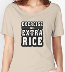 Extra Rice Light Women's Relaxed Fit T-Shirt