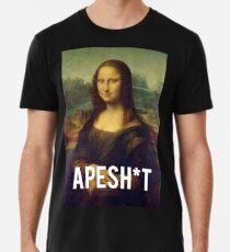 APESHIT - MONA LISA Men's Premium T-Shirt