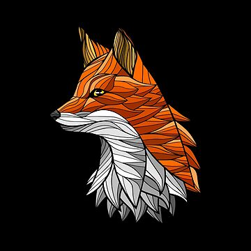 Tribal Tattoo Fox by LuisCaceres