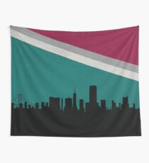 San Francisco skyline Wall Tapestry