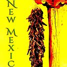New Mexico Chili Ristra poster by Larry Costales