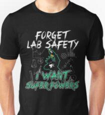 VERGESSEN LABOR SICHERHEIT Slim Fit T-Shirt
