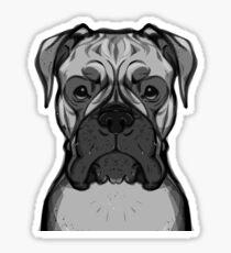Bark - Boxer Sticker