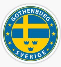 Göteborg, Göteborg Schweden, Göteborg-Aufkleber, Stadt von Schweden Sticker