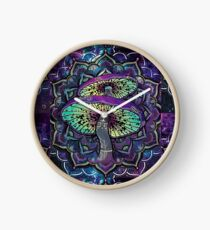 Trippy Shroom Art Clock