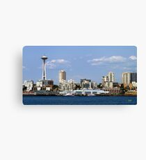 Seattle Skyline Eleven Canvas Print