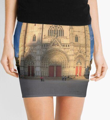 Cathedrale de Nantes Mini Skirt