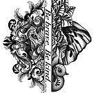 Strength and wisdom  by DarkHorseBailey