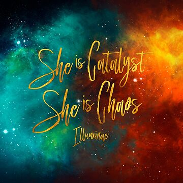 She is catalyst. She is chaos.  Illuminae by literarylifeco
