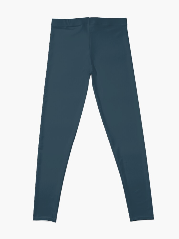 Alternate view of Slate Gray | Solid Color Leggings