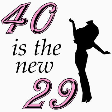 40th Birthday Gifts, 40 is the new 29! by birthdaygifts