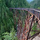 Ladner Creek Railway Bridge - Coquihalla British Columbia by Rick Nicholas