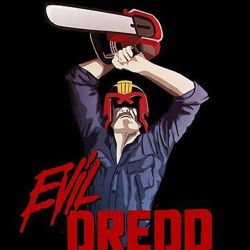 Evil Dredd by adriangemmel