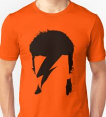 Aladdin Sane Mono Print Orange T-shirt