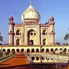 Safdarjung's Tomb, New Delhi, india. by johnrf