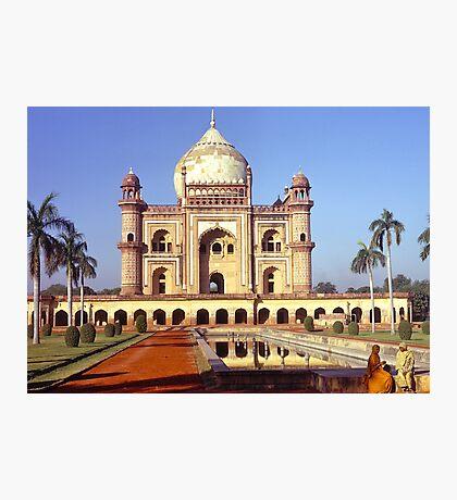 Safdarjung's Tomb, New Delhi, india. Photographic Print