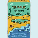Evolution Brewing Tiktaalik Fish on Land Stout by Richard Morden